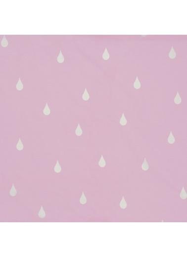 Hibboux 160x220 Dream in the Rain Nevresim Takımı - Pink & White Pembe